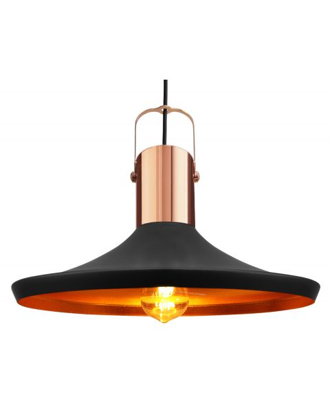 Retro Vintage Industrial Black Metal Hanging Ceiling Pendant Light Shade M0031