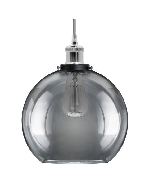 Smoked Glass Shade Chandelier Pendant M0097