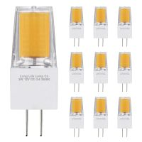 10 x G4 12v LED Bulbs Warm White 3w Replacement for 30w Halogen Capsule Light 2pin AC/DC