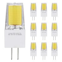 10 x G4 12v LED Bulbs Cool White 3w Replacement for 30w Halogen Capsule Light 2pin AC/DC