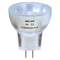 MR8 Halogen Bulb 20W 6V