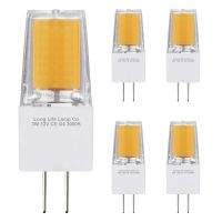 5 x G4 12v LED Bulbs Warm White 3w Replacement for 30w Halogen Capsule Light 2pin AC/DC