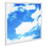 40w Sky LED Ceiling Panel 600 x 600 Cloud Scene Recessed Office Light with Transformer