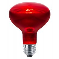 75w Reptile And Poultry Infrared Heat Lamp Bulb E27 Edison Screw