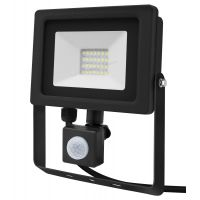 20w LED PIR Flood Light IP65 Outdoor Security Light with Motion Sensor Cool White