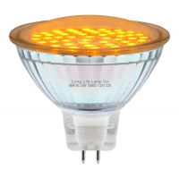 2w MR16 LED Amber Low Voltage Spot light Bulb 12v