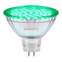 3w MR16 LED Green Low Voltage Spot light Bulb 12v