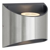Modern LED Outdoor Wall Light Stainless Steel Warm White ZLC326WW