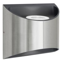 Modern LED Outdoor Wall Light Stainless Steel Cool White ZLC327CW