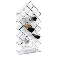 Cosmetic Clear Make Up Organiser Storage Palette Acrylic Stand 28 Holders CY001