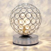 Modern Retro Crystal Ball Table Lamp M0244 with G9 LED WW/CW/Red/Blue