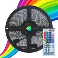 5 Metre Flexible LED RGB Striplight Full Kit Colour Changing With Remote Controller
