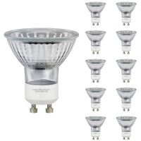 10 X GU10 50W Halogen Light Bulb Lamp