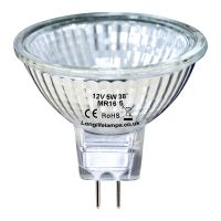 MR16 Halogen 5w Light Bulb 12V