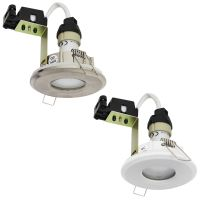 7w LED Shower Downlight IP65 240v Mains Power