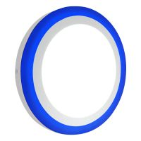 18w LED Ceiling Light Cool White with Blue Ambient Ring Surface Mount