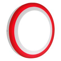 18w LED Ceiling Light Cool White with Red Ambient Ring Surface Mount